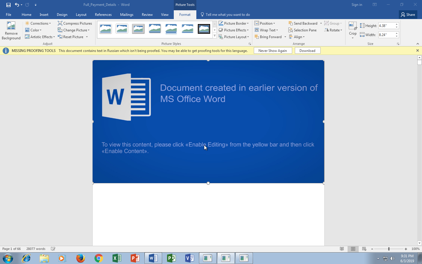 Office 2019 Proofing Tools